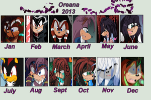 Year in Review by oreana