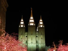 Temple Square by jeanene13
