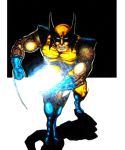 'Wolverine and the Cosmic Cube' by TADASHI-STATION