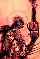 Show Devils colored by PeterPalmiotti