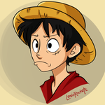 OP: Monkey D. Luffy by lewisrockets