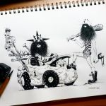The Bouldermobile Wacky Races by raultrevino