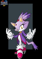blaze the cat  -  commission by nightwing1975