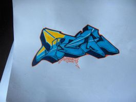 Kame one quick by Graffitiminded
