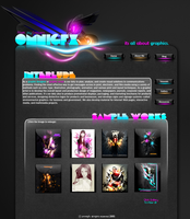 My Personalize Web Template by omnigfx