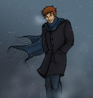 George in the Snow by The-Starhorse
