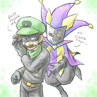 Lol Pairings: Dimentio x Mr. L by Pimmy