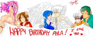 Happy Birthday Ayla by arystar