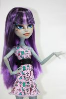 Monster High Repaint - CAM Mummy by Mowsette
