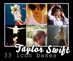 Icon Bases - Taylor Swift by DarkSideofGraphic