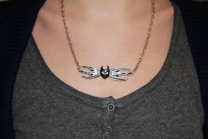 The Nightmare before Christmas bow tie pendant by Ragamuffyn