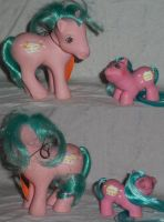 My Little Pony Custom Baby Banana surprise by Ember-lacewing