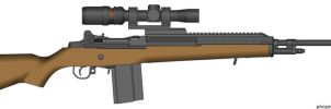 M-14 Hunting Rifle by Geke-sulen