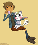 Tea Time for Pahsy by SamCyberCat