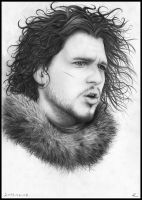 Jon Snow by Serna59