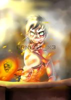 Titan Luffy by ErnestX3