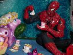 tea party with your hero by yaizel