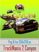 TrackMania 2 Canyon Icon by evolution99