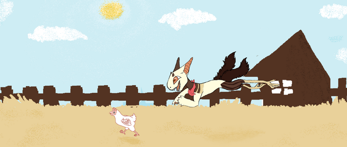 Catch 'n' Scoop (July prompt) by Hollyleaf12345678910