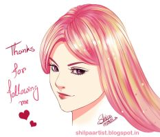 Thanks for following by Khushiart
