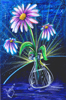 Prisma Flowers-1 by Orbcreation