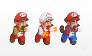 Mario by Phil-Crash-Murphy