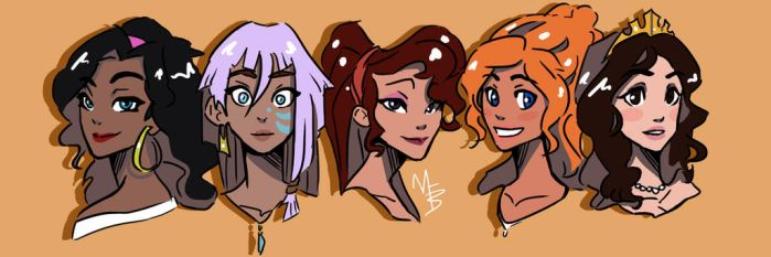 Disney Girls: Charming by TrueLoveStory