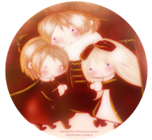 |APH| Siblings by Zhenyura-WV