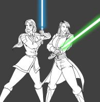 Revan and The Exile - preview by JosephB222