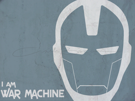 fan art - i am war machine 2 by iAmAneleBiscarra