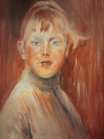 My first oil painting by SiniSiren