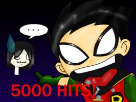 Yay 5000 hits by mel-lyks-cereal
