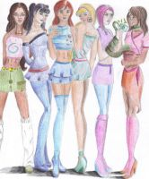 The Winx Club by nhiaphengthao