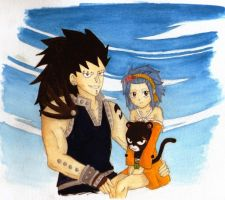 Gajeel X Levy by manny1212
