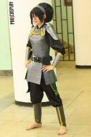 The legend of Korra - Chief Toph Bei Fong by TophWei