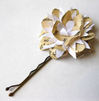 Shakespeare Blossom Hair Pin by pandacub143