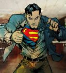 Superman colored by mycathas6toes