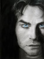 Damon Salvatore (Ian Somerhalder) by Sasoriakasuna1