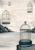 Surreal Cages by Coreysshadow
