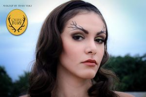 BARATHEON makeup - Game of Thrones inspired by Yukilefay
