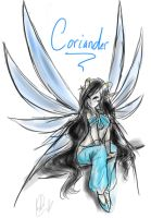 Coriander, The Dragonfly Queen by Ask-TheDrakon