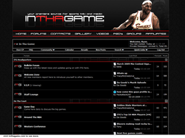 In Tha Game Forum Skin by ryancurrie