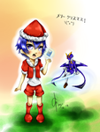 Merry Christmas! 2013 (+ SPEED PAINT) by CeciliaRinChan