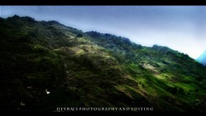 Shivalik Hills, India. by DevSilus