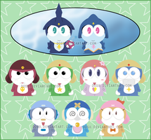Keroro Movie 2 Chars - SP by Dosu