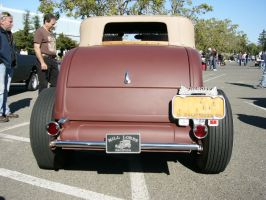 1932 Ford roadster's cute little butt by RoadTripDog