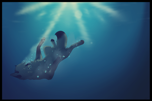 Slumber in water by Ziorati