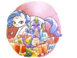 My favorite present is your love by claire-pouette