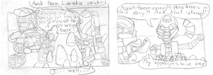 Bionicle comic 1.  Paradoxes by the-Rose-of-Blue