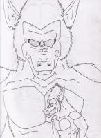 Great Ape Super Android 13 by GeotrixQueen